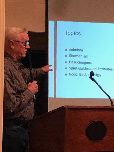 Presentation to SD Mystery Society